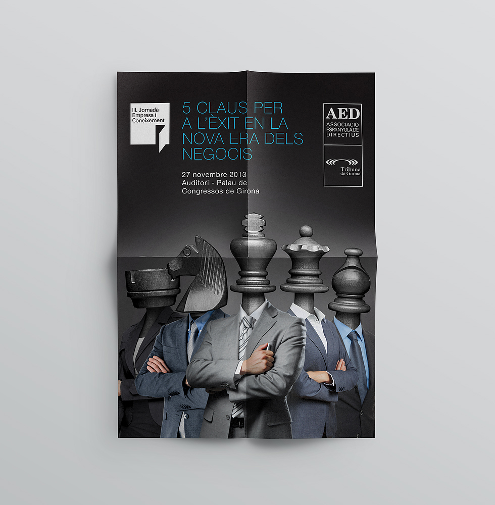 aed_meeting_executive_barcelona_workshop_poster_chess_graphicdesign