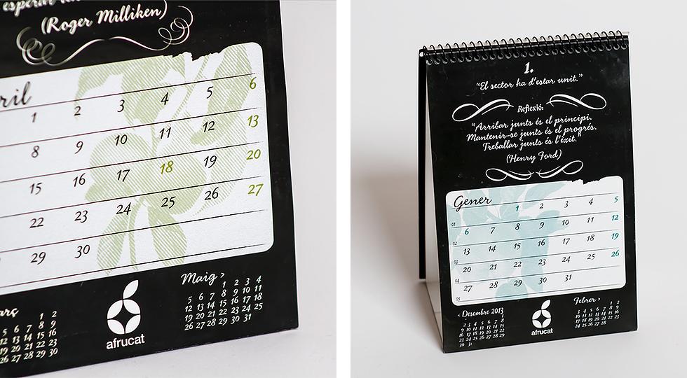afrucat_branding_logo_colors_black_corporate_identity_composite_graphic_design_calendar