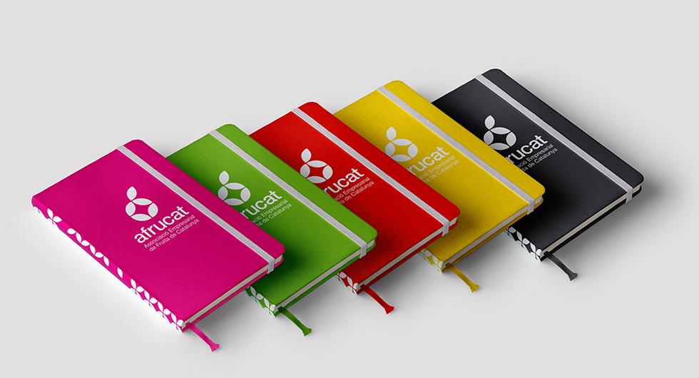afrucat_branding_logo_colors_five_corporate_identity_composite_graphic_design_notebook_1_stationery