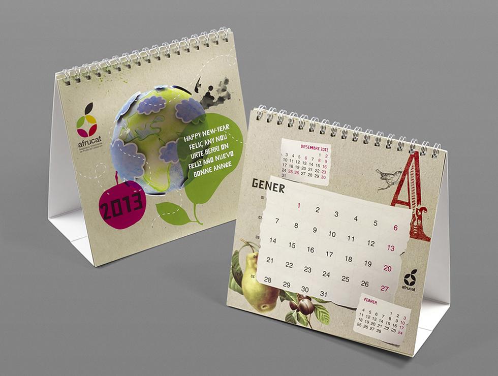 afrucat_calendar_graphic_design_corporate_brand_word_illustration