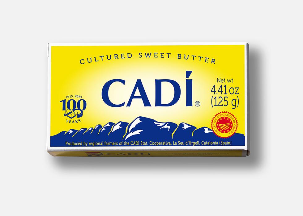 diseño grafico packaging mantequilla y productos lacteos, queso