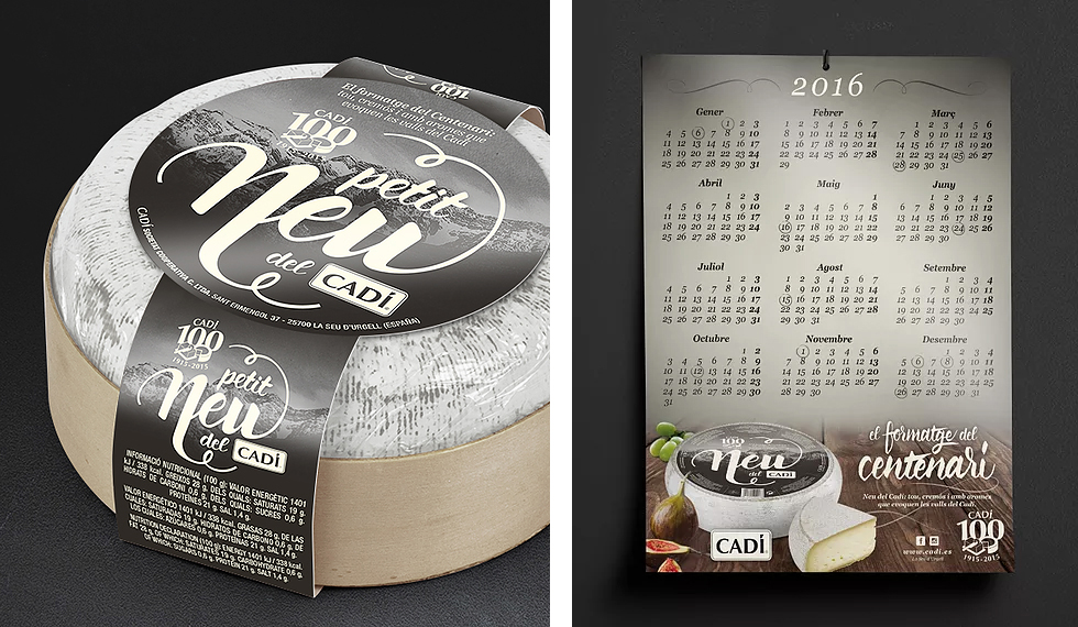 cadi_neu_snow_cheese_branding_packaging_spanish_graphic_design_calendar