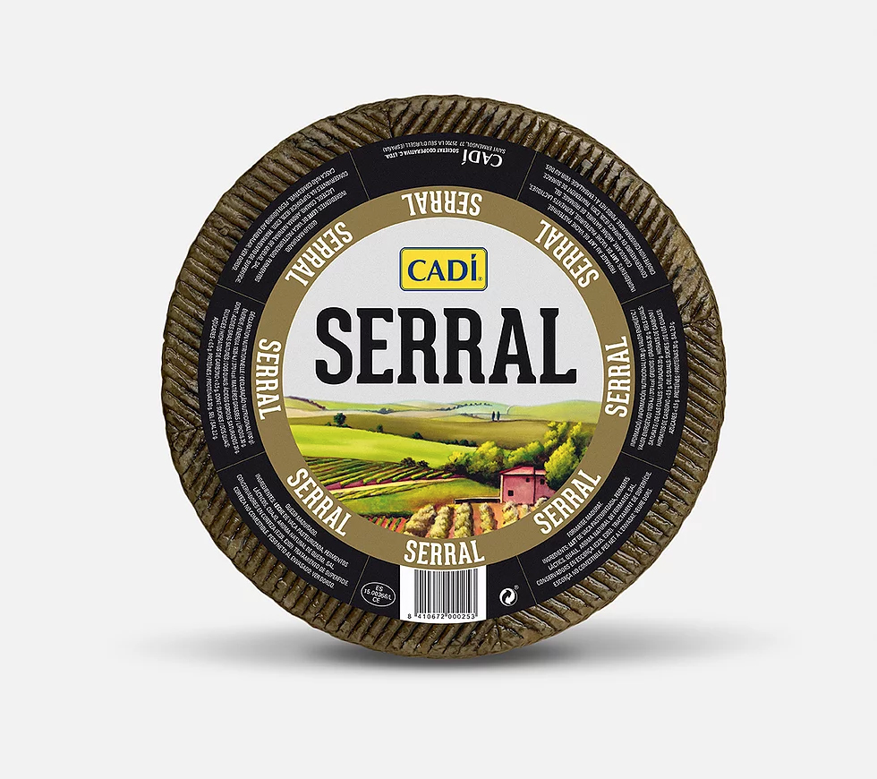 cadi_serral_manchego_cheese_branding_packaging_graphic_design_label