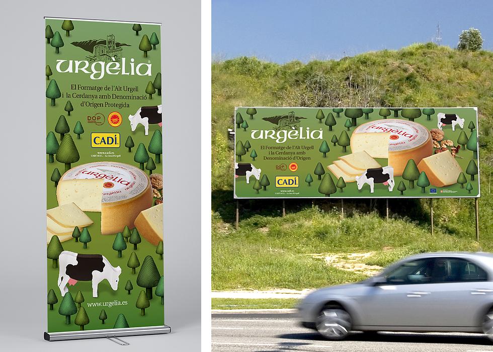 cadi_urgelia_cheese_branding_packaging_graphic_design_advertising_fence