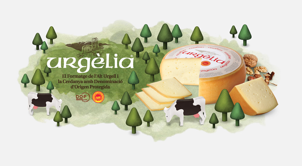 cadi_urgelia_cheese_branding_packaging_graphic_design_advertising_illustration