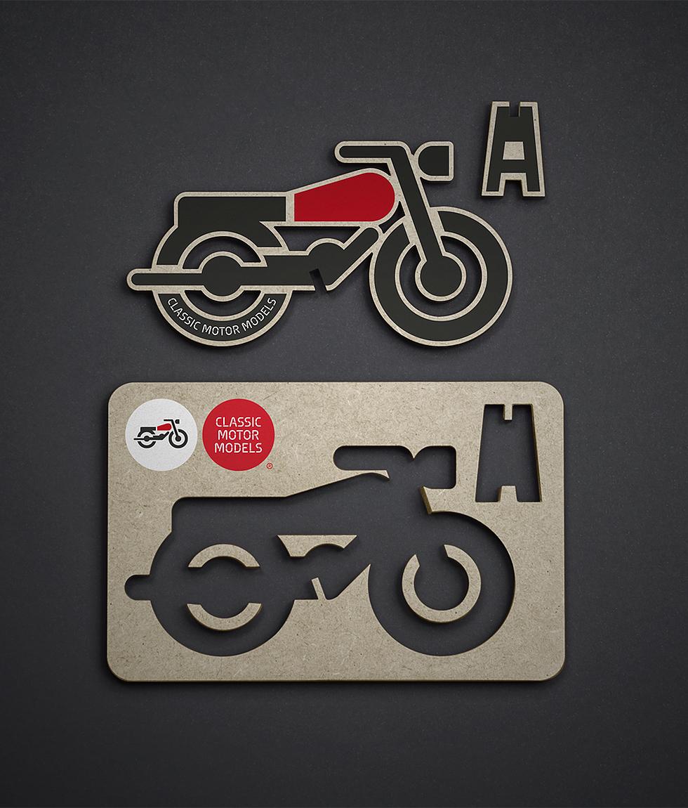 diseño marca motocicleta