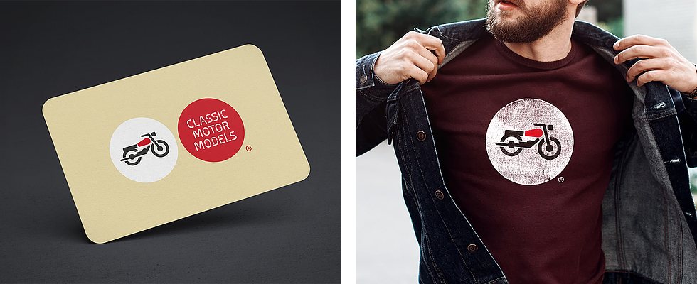 classicmotormodels_logo_brand_corporate_identity_bike_red_shirt_branding_points