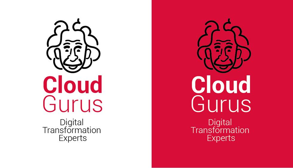 cloudgurus_einstein_logo_brand_corporate_identity_lineart_red_black_graphicdesign_1