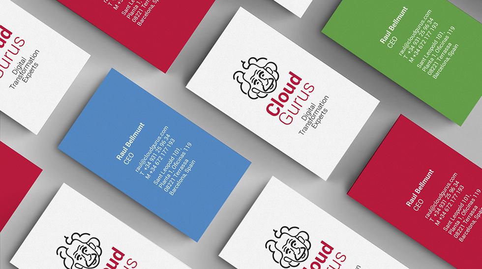 cloudgurus_einstein_logo_brand_corporate_identity_lineart_red_black_graphicdesign_card_stationery