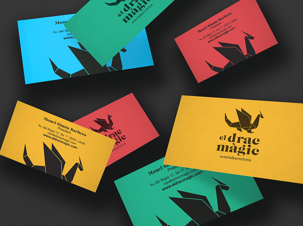 dracmagic_logotype_events__graphicdesign__brand_illustration_papiroflexia_composite_cards_stationery