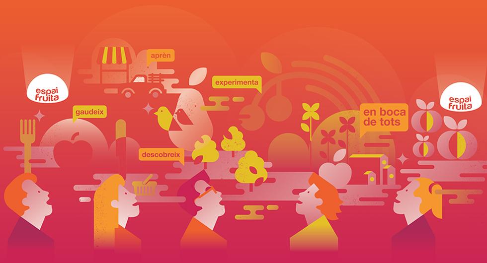 espaifruita_afrucat_dome_planetarium_graphicdesign_industrial_fineart_logotype_branding_background_red_knowledge_illustration