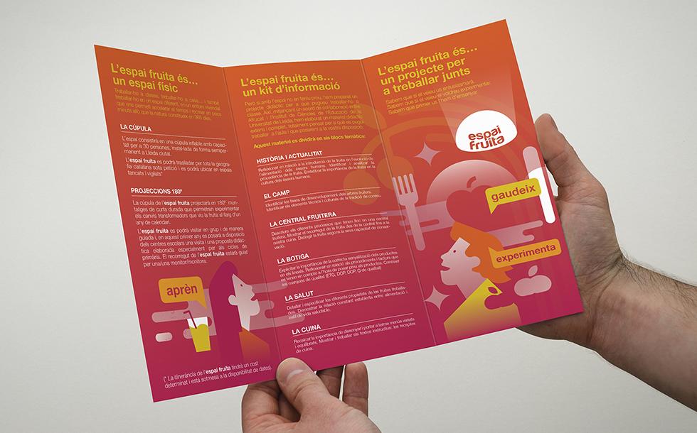 espaifruita_afrucat_dome_planetarium_graphicdesign_industrial_fineart_logotype_branding_background_red_knowledge_illustration_flyer_brochure