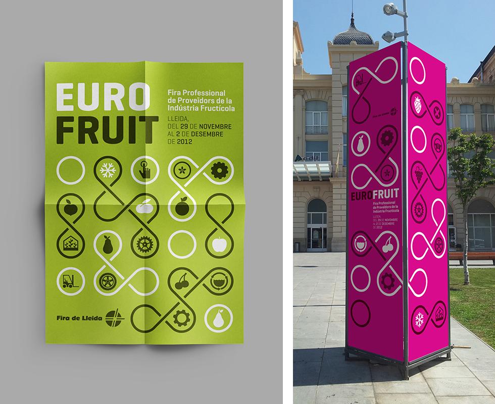 eurofruit_branding_logo_pink_euro_fruit_infinity_fair_totem_city_lleida_graphicdesign