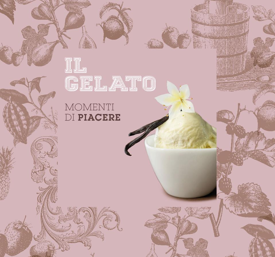 Disseny de marca de gelats italiana i aplicació a botiga