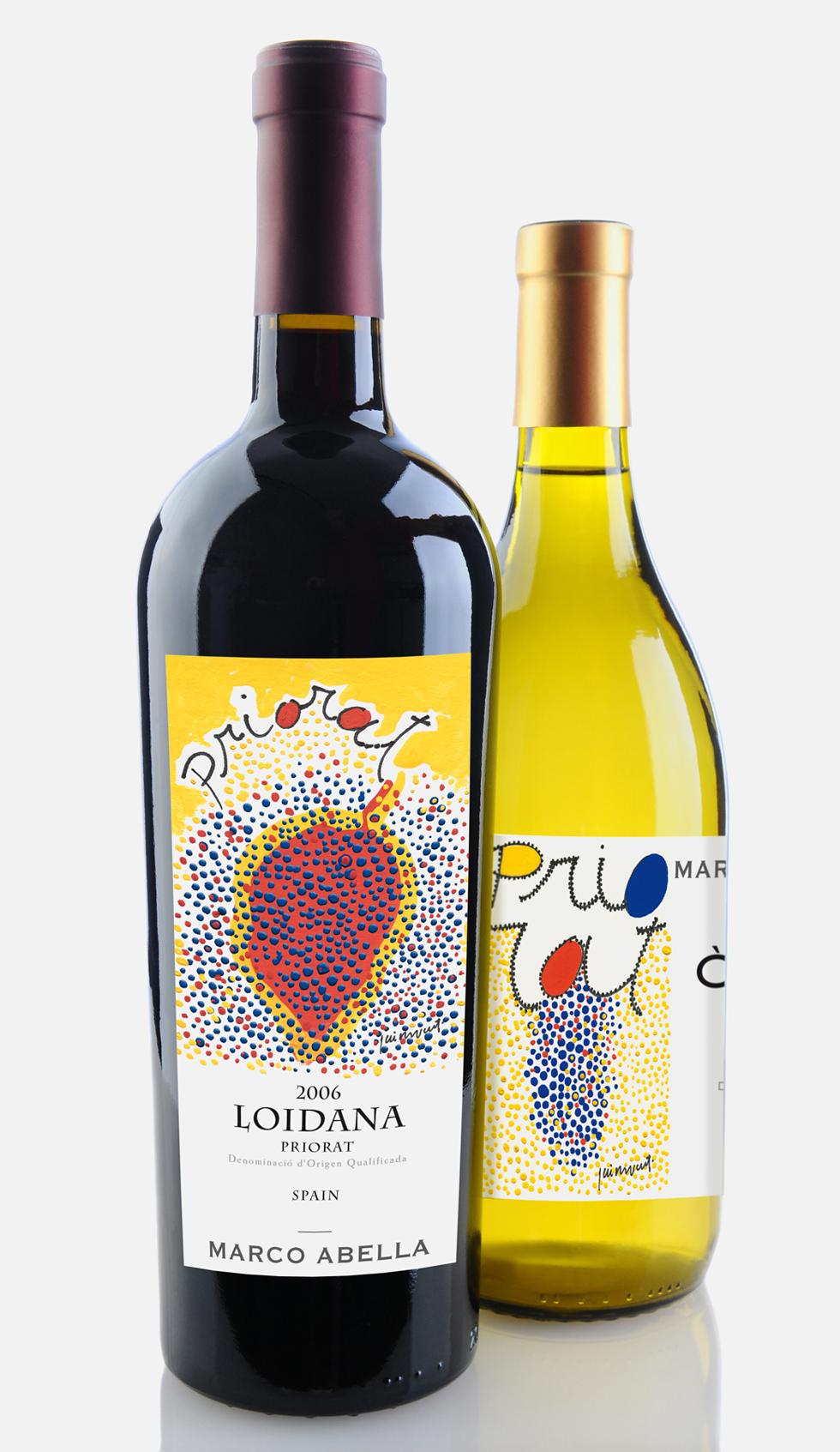 Disseny etiquetes vins
